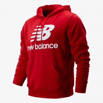 NEW BALANCE majica s kapuljačom ESSENTIALS STACKED LOGO