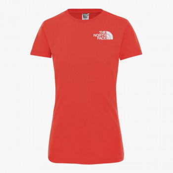 NORTH FACE t-shirt W S/S EASY TEE FLARE