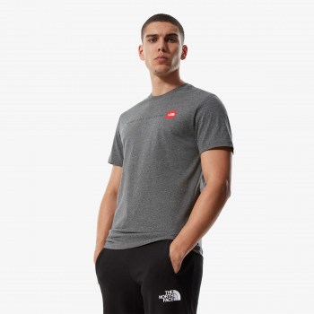 NORTH FACE t-shirt M S/S NSE TEE TNFMDGYHR/TNFRD