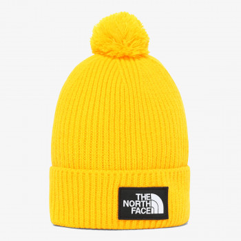 NORTH FACE beanie TNF LOGO BOX POM SUMMIT GOLD