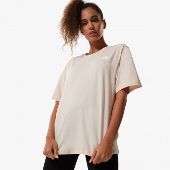 THE NORTH FACE t-shirt W BF SIMPLE DOME