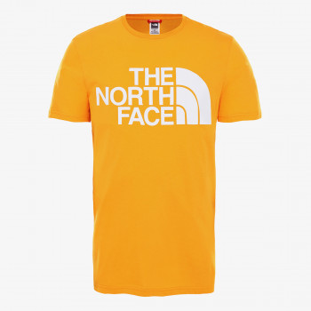 NORTH FACE t-shirt M STANDARD SS TEE SUMMIT GOLD