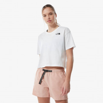 THE NORTH FACE t-shirt W CROPPED SIMPLE DOME TEE