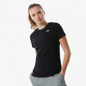 THE NORTH FACE t-shirt W S/S SIMPLE DOME TEE