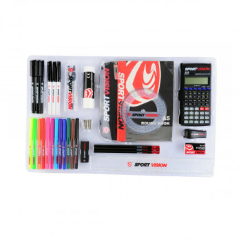 SPORT VISION  stationery ŠKOLSKI SET