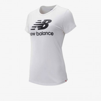 NEW BALANCE  t-shirt ESSENTIALS STACKED LOGO TEE