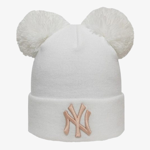 NEW ERA dječji beanie OTR.LEAGUE ESS KIDS DBL BOB KNIT NEYYAN WHI