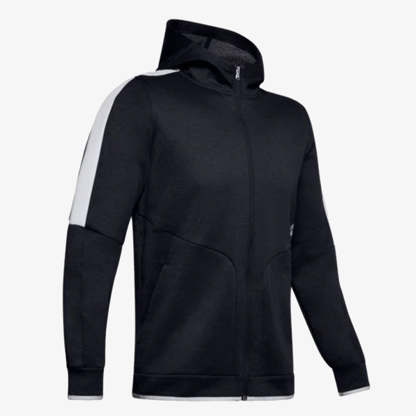 UNDER ARMOUR majica dugih rukava na patent ATHLETE RECOVERY FLEECE