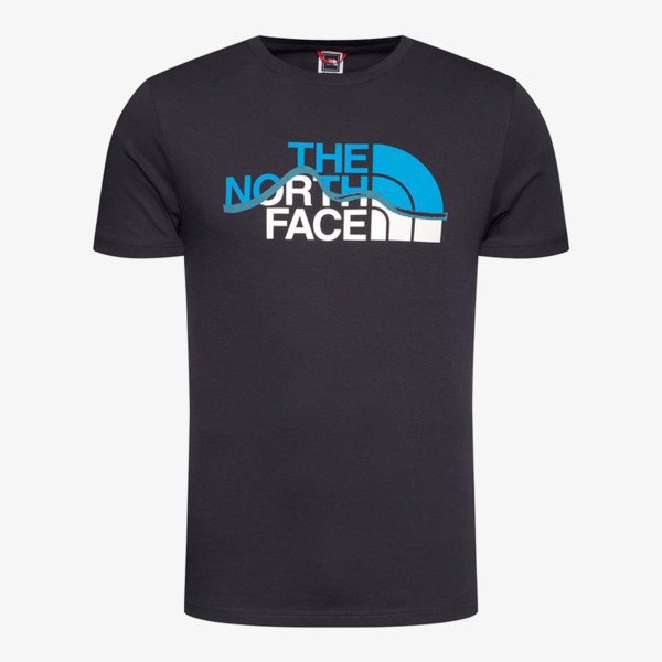 NORTH FACE t-shirt M S/S MOUNT LINE TEE AVIATOR NAVY