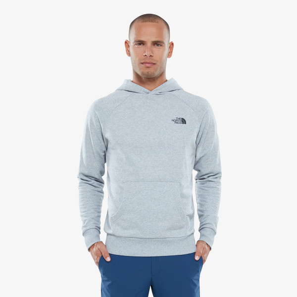 NORTH FACE majica s kapuljačom M RAGLAN RED BOX HD TNFLIGHTGREYHTR