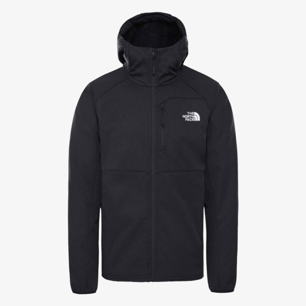 NORTH FACE jakna M QUEST HD SFTSHL TNF BLK/TNF BLK
