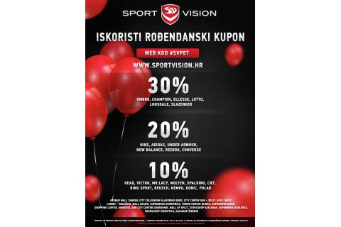 Sport Vision slavi 5. rođendan