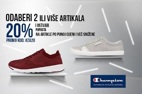 20% NA WEB KUPOVINU CHAMPION MODELA