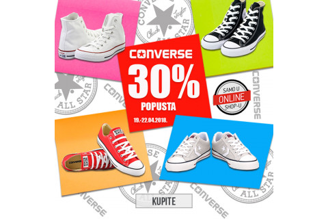 Converse – ikona među tenisicama