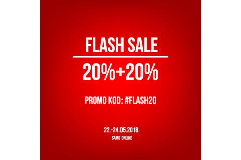 [FLASH SALE] 20% + 20%