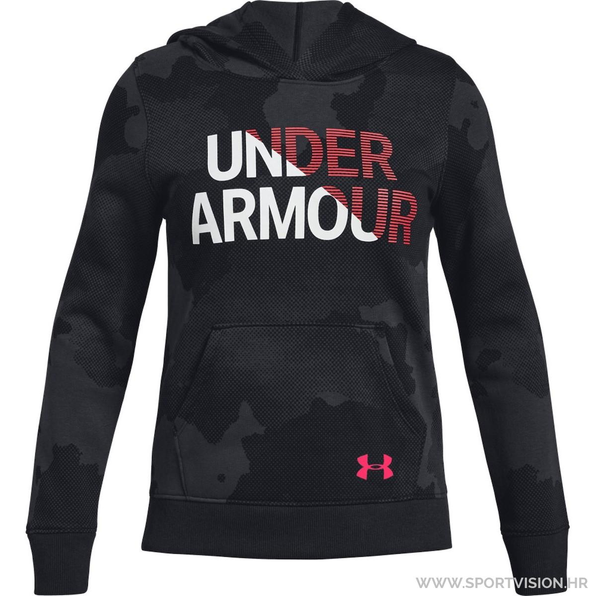 UNDER ARMOUR majica s kapuljačom RIVAL
