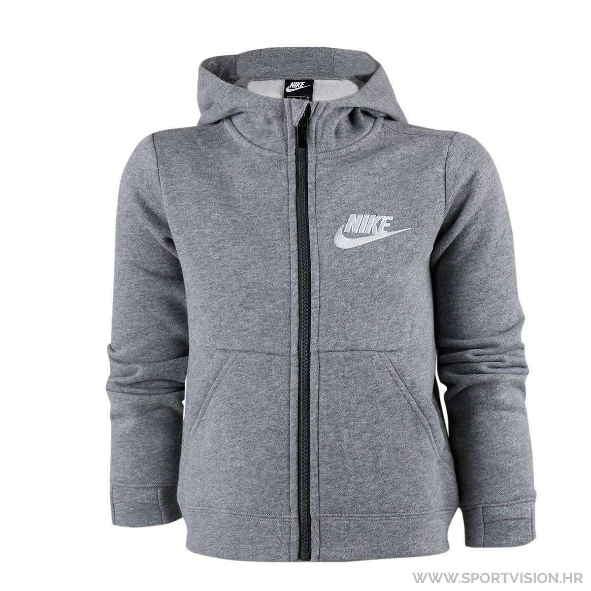 NIKE majica s kapuljačom NKB NSW CLUB FLEECE FZ